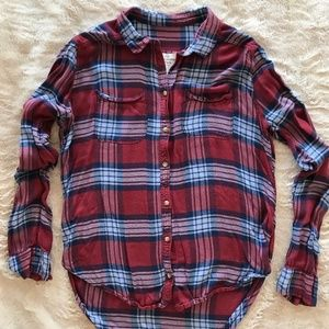 Abercrombie & Fitch Women's Flannel Shirt